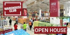 NTUC FairPrice: Warehouse Club Open House (NO Membership Require